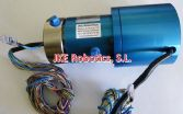 Junta Rotativa LTM-2321-ESM438-F1-C2 Aluminio con colector eléctrico PROFINET